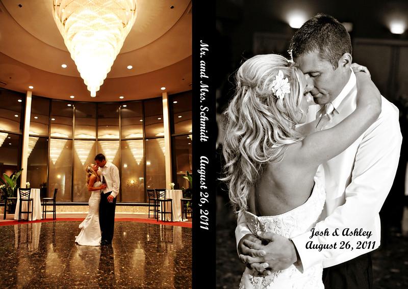 Ashley & Josh 12x8 Tuscany Wedding Album
