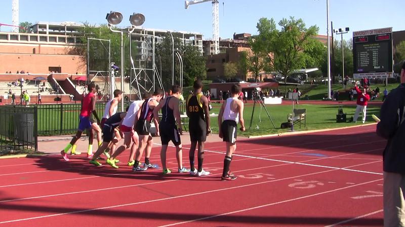 2013 Centerville HS Track - Boys #TakeTheStep
