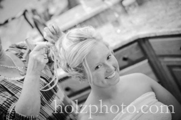 Amanda & Kyle B/W Wedding Photos