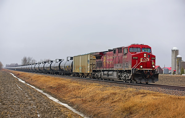 Canadian Pacific 650, Lacolle, Quebec, March 29 2020.