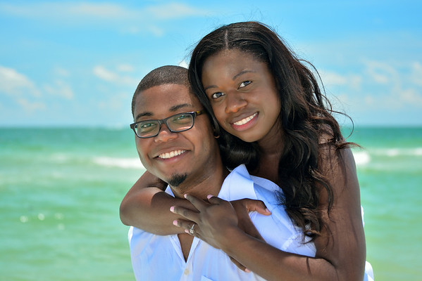 Lauren & Calvin's Edited Engagement Pix