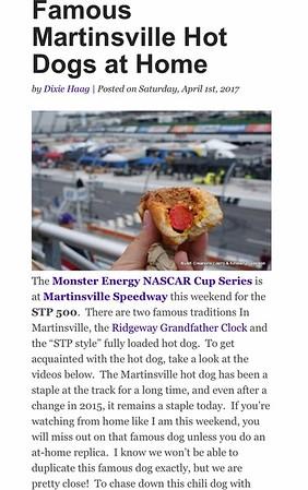 Martinsville Speedway 2019