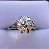 2.63ct Old European Cut Diamond Solitaire, GIA K VS2 6