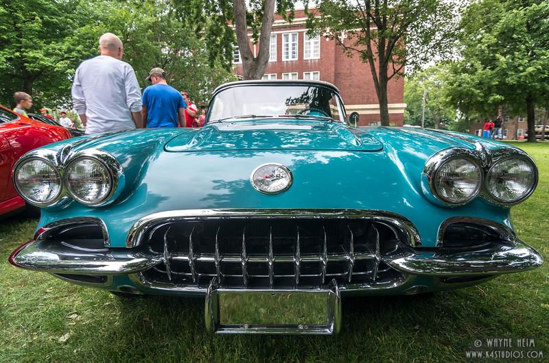 Front Corvette    Photography by Wayne Heim