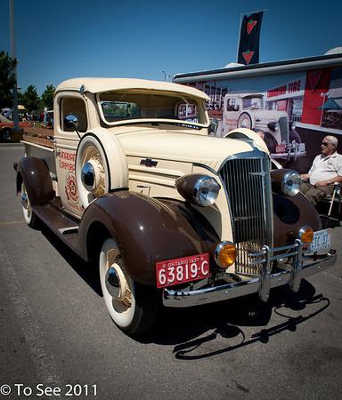 Exposition voitures antiques Rosemère