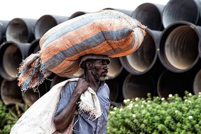 Road building Africa