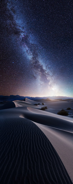 death valley mequite sand dunes milky way stars galaxy astrophotography composite dream long exposure night desert.jpg
