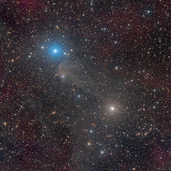Cometary Globule CG13 in Puppis