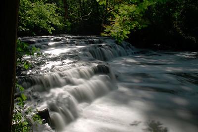 Postcard Falls in Corbett's Glen near Rochester, NY