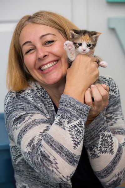 Kittens Visit