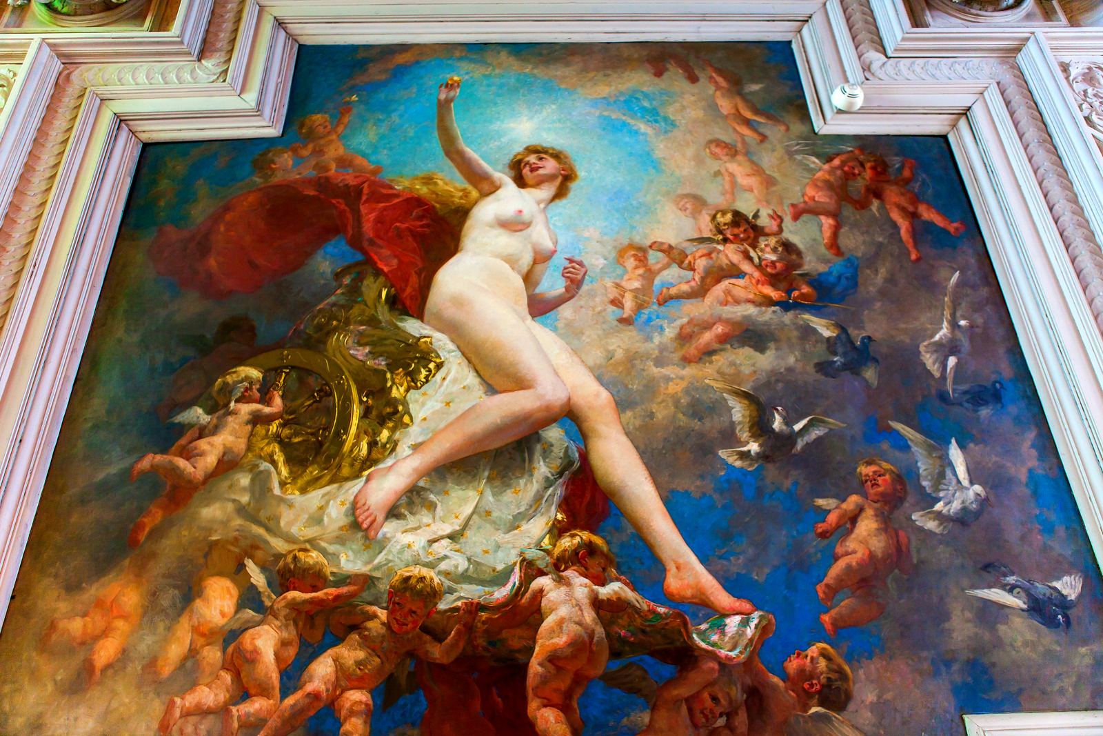 丹麦腓特烈堡城堡,油画里的故事