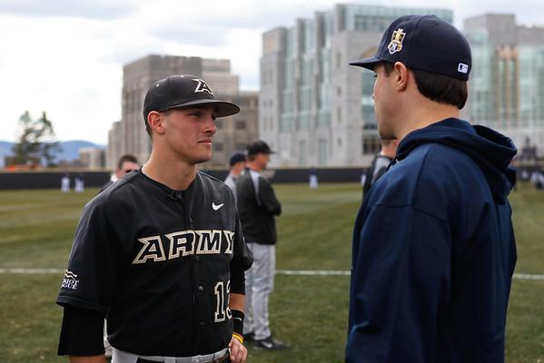 Yankees Army Baseball Game