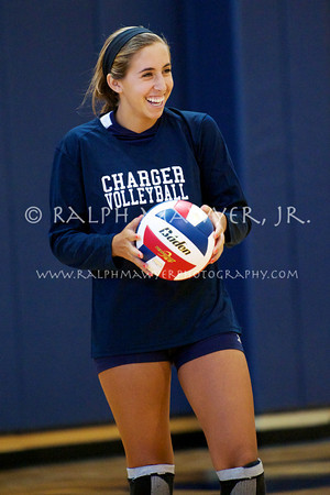 Volleyball - Boerne-Champion vs Incarnate Word High School (2012)