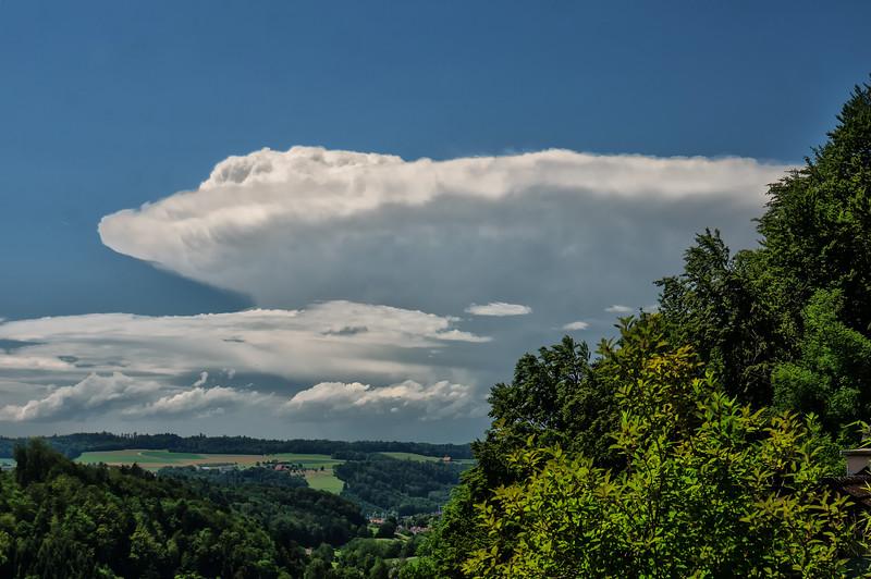 Cb über dem Jura | Cb over the Jura mountains