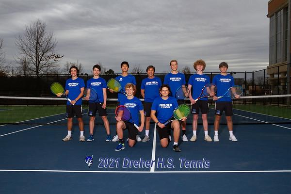 2021 Boys Tennis  Varsity