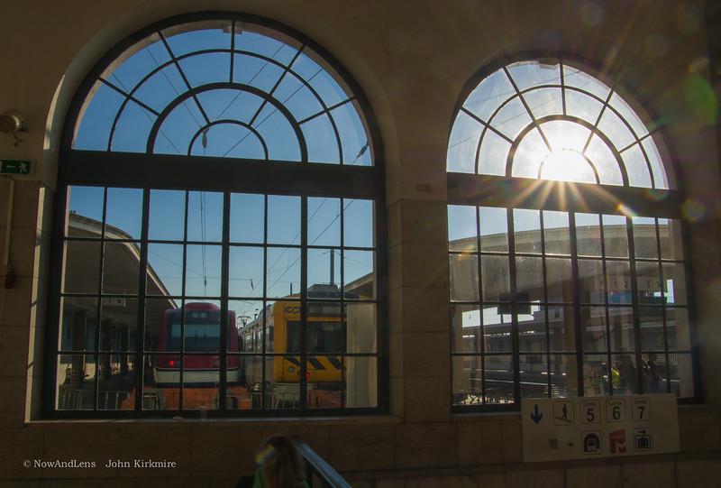 Rail station,Lisbon