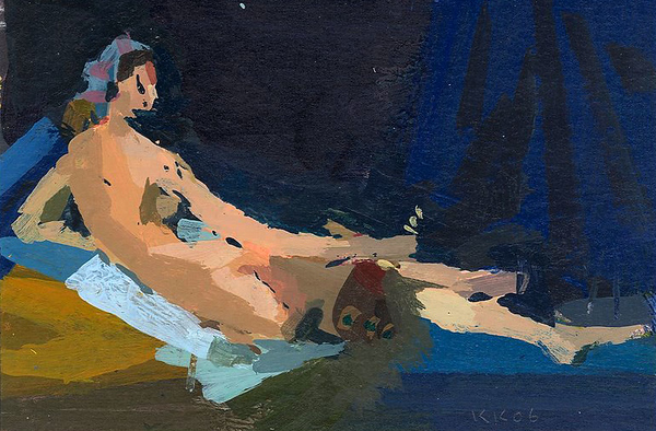 La Grande Odalisque (after Ingres)