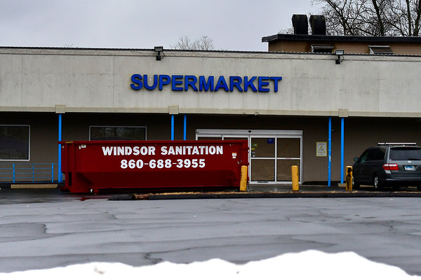 2/7/2020 Mike Orazzi | Staff The former grocery store in downtown Bristol on Friday.