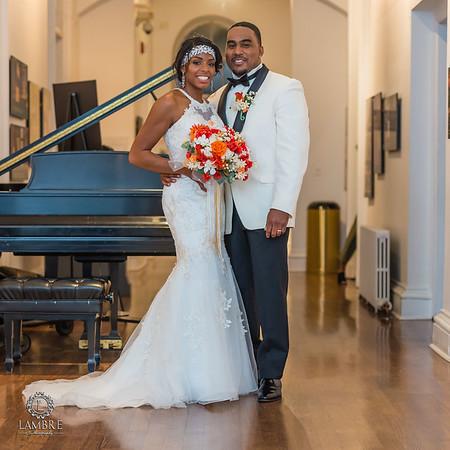 Tynesha & Taj wedding