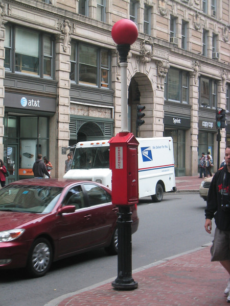 Emergency Post. Boston