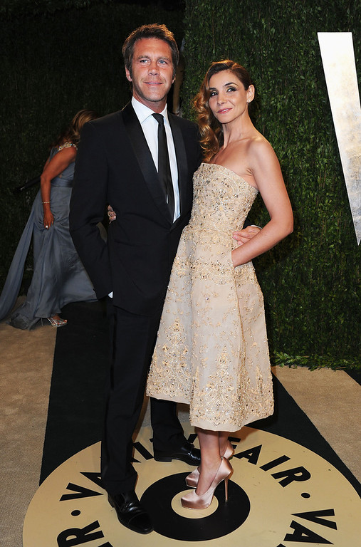 . Prince Emanuele Filiberto di Savoia and Princess Clotilde Courau arrive at the 2013 Vanity Fair Oscar Party hosted by Graydon Carter at Sunset Tower on February 24, 2013 in West Hollywood, California.  (Photo by Pascal Le Segretain/Getty Images)