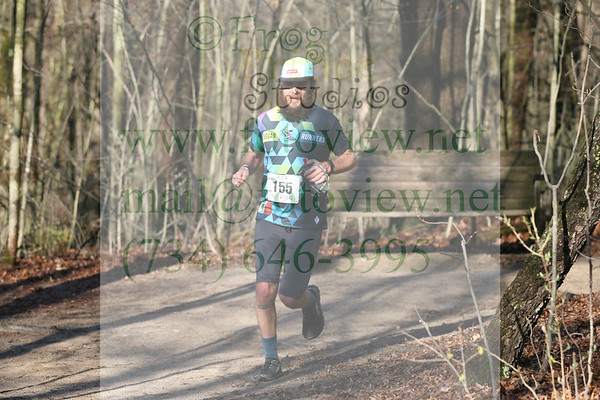 Trail Marathon Weekend 28 Apr 2019 11mi back to 9.3mi Glenbrook Aid Station