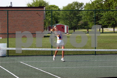 Danville v Brownsburg - Tennis - Girls