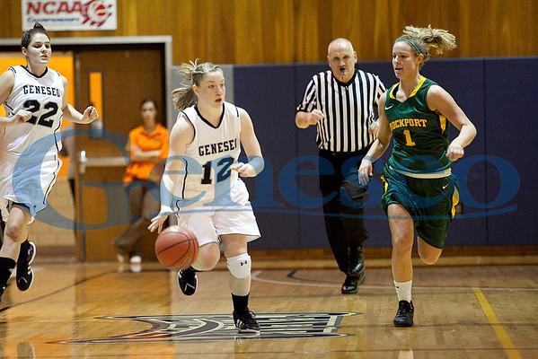 Women's Basketball vs Brockport 1/17/12