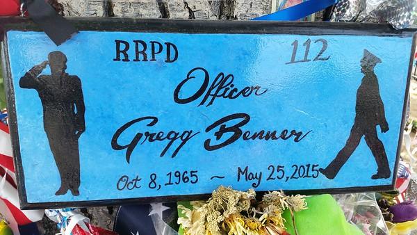 Gregg 'Nigel' Benner Streetside Memorial  6-13-15