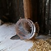 'I Will Return' Glass Oval Pendant, by Seal & Scribe 4