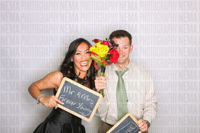Hannah and Jake's Photo booth