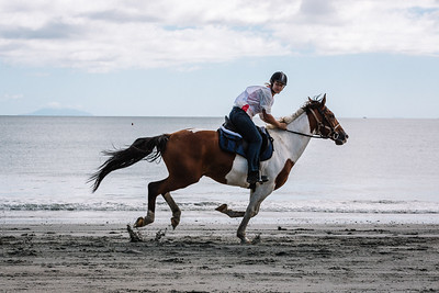 Onetangi Beach Races 2017