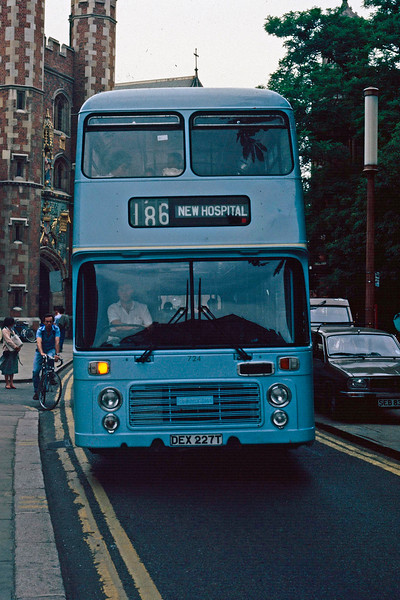 Buses of Cambridge in olden times