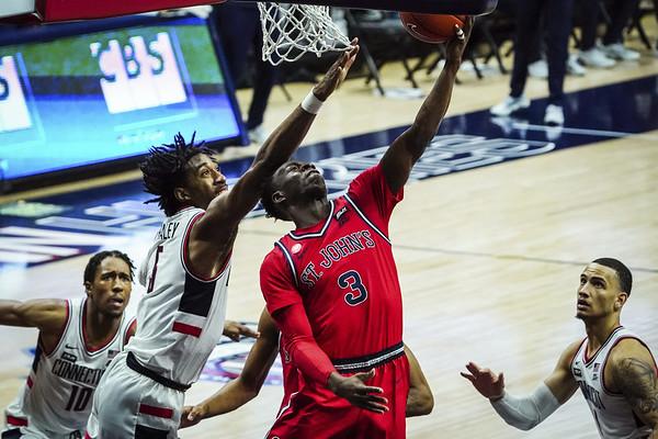 UConn Men's Basketball 1-18-21