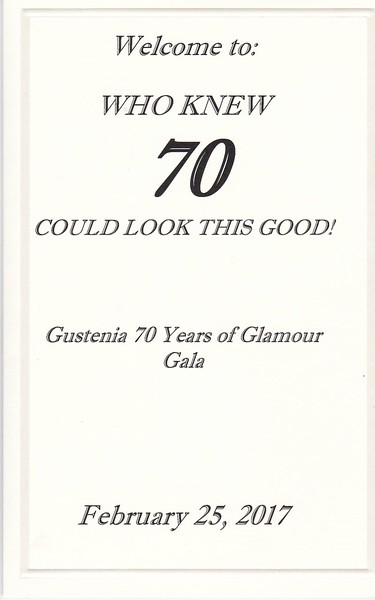 Gustenis 70 years of Glamour Gala