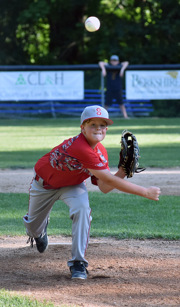 Pittsfield American vs. Pittsfield National in 9-11 District 1 Little League tournament - 070319