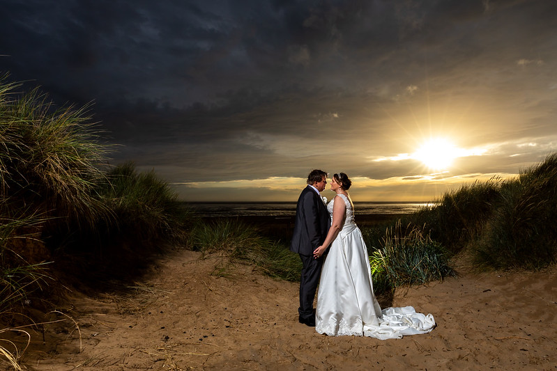 Jacqui and Neil at The Best Western Plus Glendower Hotel, St Annes
