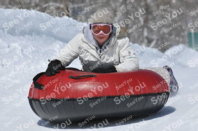 Snow Tubing 3-4-13 pm sessions