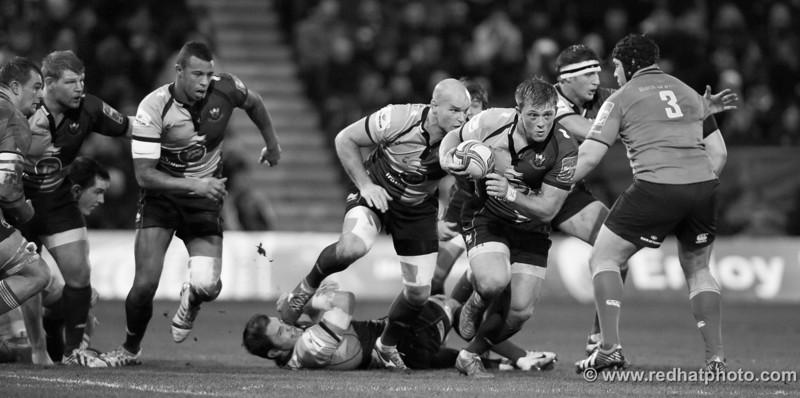 Northampton Saints 2013-14 season so far - in black & white