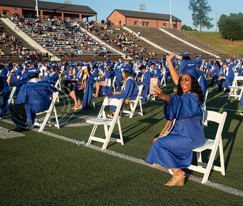 John Tyler High School Graduation 2020 by Jim Bauer and Sarah Miller