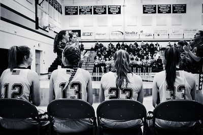 AAHS Lady Lions 03-11-17 State Playoff Game