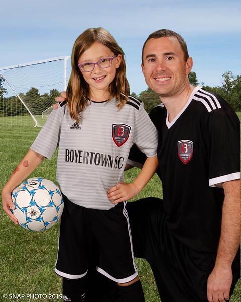 2019 Boyertown Soccer Club Coach-Player Shots