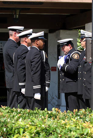 LACOFD 118_ FLAG CEREMONY FOR DARRILL RICE