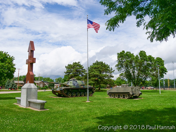 Red Arrow Park – Oshkosh, WI – M60A3 & M114