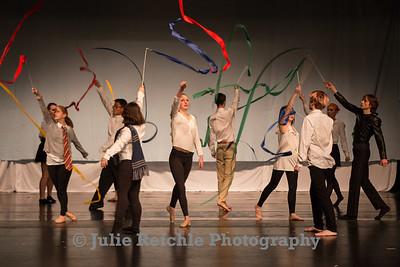 PHS Dance: Literary Movements, Dec 2014