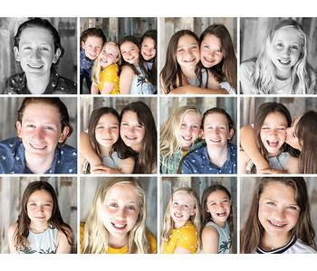 Friends child portrait session - La Jolla 2019.