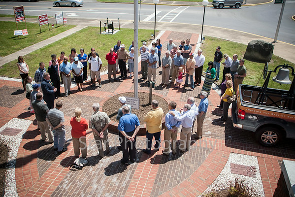 Salvation Bell Comes To Carter County Courthouse 05-05-14