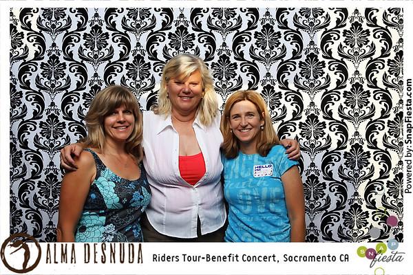 Alma Desnuda Benefit Concert, Sacramento 7.22.11