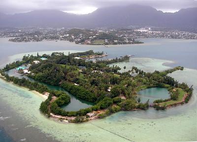 Coconut Island, He'eia Harbor
