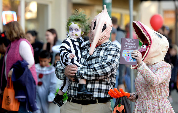 Characters take to the streets for Downtown Vacaville Halloween Stroll